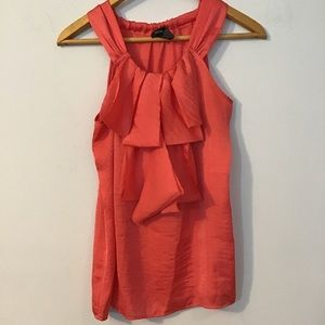❤️5 For $15 coral Spense sleeveless blouse